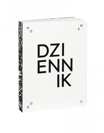 Dziennik Nowego Testamentu by Ola Tubielewicz (czarne przetłoczenia)