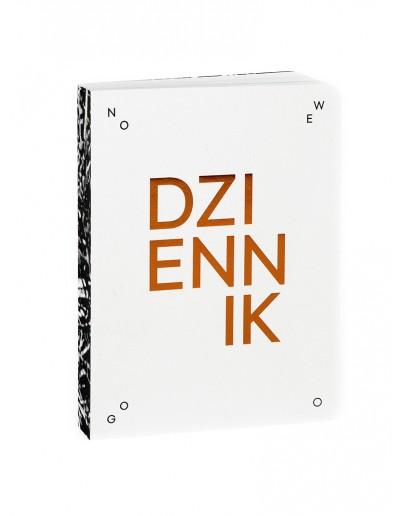 Dziennik Nowego Testamentu by Ola Tubielewicz (miedziane przetłoczenia)